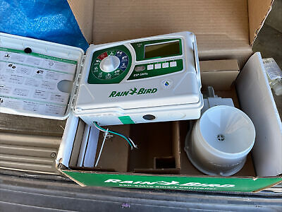 Rain Bird ESP4SMT Sprinkler controller Smart weather station New With Rain Senso