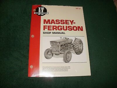 Massey-ferguson Tractor Shop Manual Models Mf-135mf-150mf-165wiring Diagrams