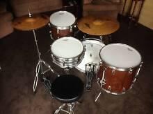 Drum Kit, new Remo heads, Zildjian cymbals Pickering Brook Kalamunda Area Preview