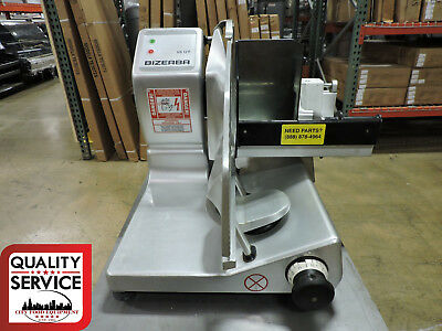 Bizerba Vs12f Commercial Manual Deli Meat Slicer