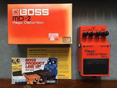 Boss Mega Distortion MD-2 Pedal (with box)