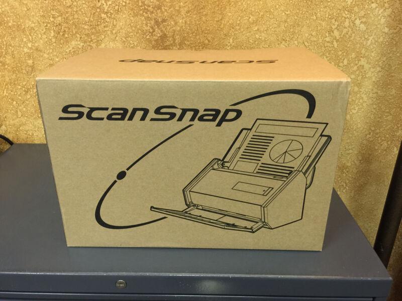Fujitsu ScanSnap iX500 Document Scanner Black PA03656-B005