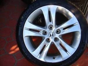 "Set of Genuine 18"" Honda Accrod Euro Rims 5 Stud x 114.3 Pattern Green Valley Liverpool Area Preview"
