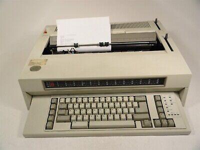 Ibm Wheelwriter 10 Series Ii 6783 Electric Typewriter Battery Corrosion As-is