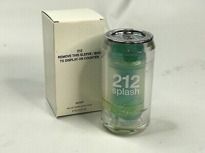 2 Ounce 212 Splash - NEW 212 Splash by Carolina Herrera Eau De Toilette Spray For Women 2 oz / 60 mL