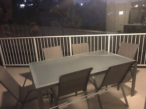 6 Seater Outdoor Setting