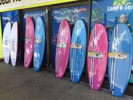 Surfboard Mega Special Foam surfboards slick bottom from $110