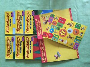 Curious George (level one) - 6 Books, certificate & stickers