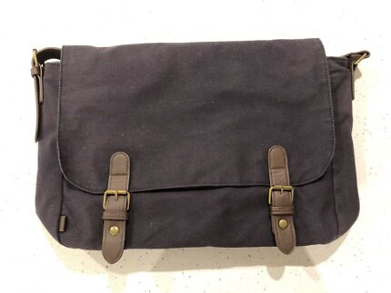 ASOS Messenger Bag Navy