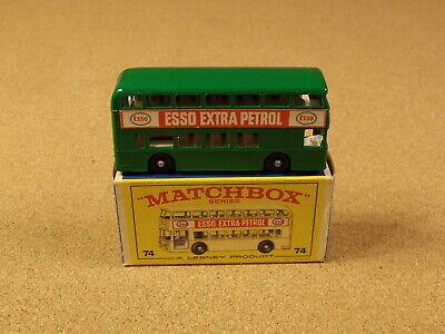 OLD LESNEY MATCHBOX # 74 DAIMLER BUS ORIGINAL BOX