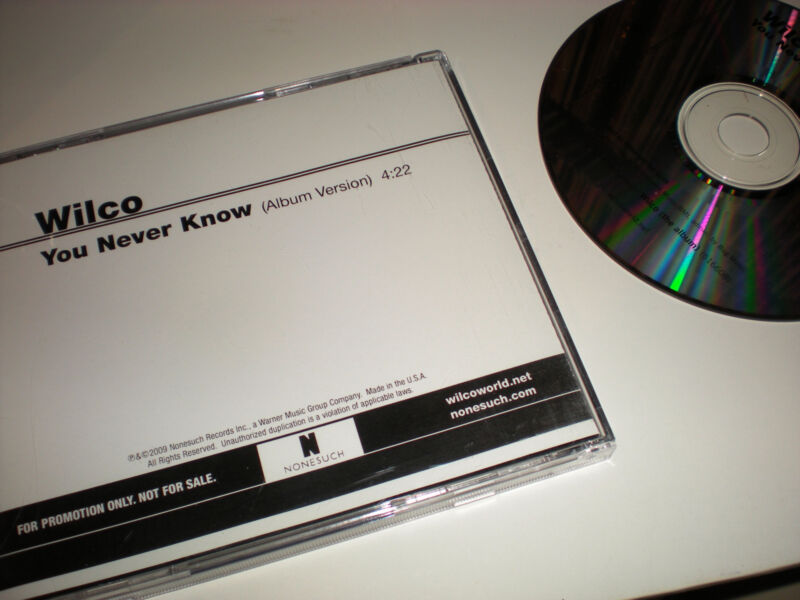 Wilco You Never Know CD SINGLE one track album version