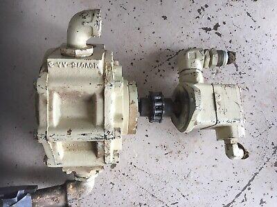Ingersoll Rand Ecm 350 Air Motor And Hydraulic Pump