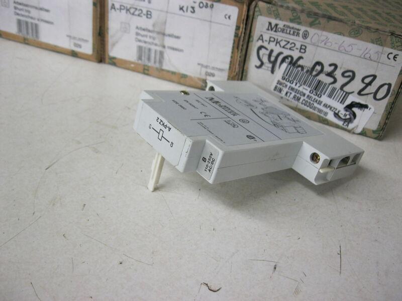 Klockner Moeller A-PKZ2-B Shunt Trip 110-250v AC-DC, PKZ2 Manual Motor Protector