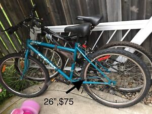 Multiple sizes kids bicycles,tricycle,and many more