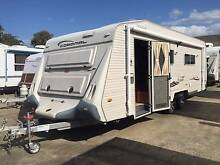 2007 Coromal Princeton 701 Full Ensuite Shower Toilet Caravan Clontarf Redcliffe Area Preview