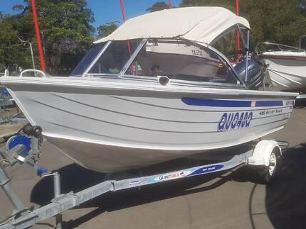 Quintrex 420 Estuary Angler PRESENTS LIKE NEW