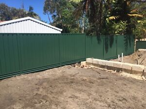 Colorbond fencing ( $65 p/m supply & install)