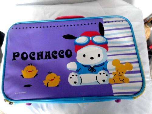VINTAGE Sanrio Pochacco Purple Suitcase 1999
