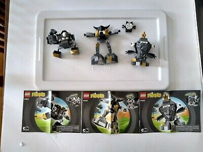 LEGO Mixels Series 1 Krader 41503, Seismo 41504, Shuff 41505 (set of three)