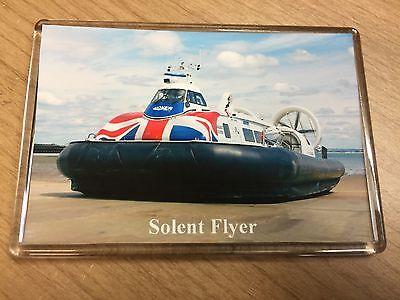 HOVERTRAVEL Hovercraft SOENT FLYER Large Fridge Magnet Ferry Solent I.o.Wight