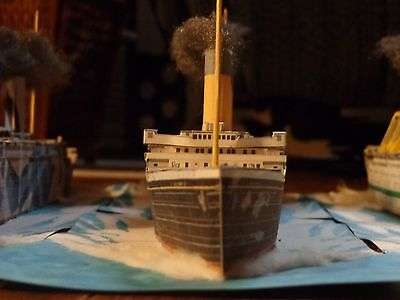 Kit  Rms Titanic Card Model 1 500 Scale