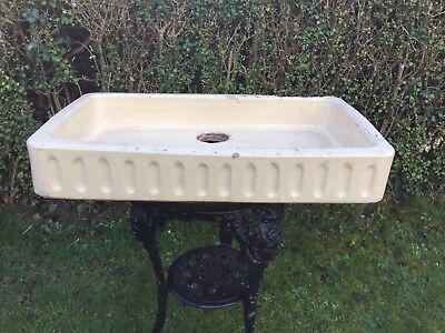 Vintage Belfast Sink Salting / Planter / Trough / Garden Feature