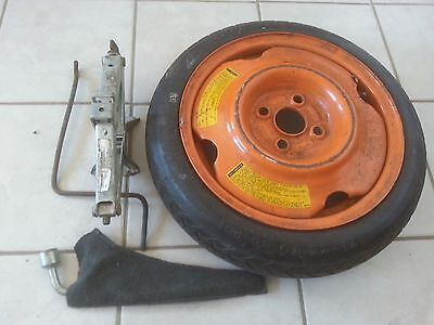 (90 Mazda Miata spare wheel tire jack lug wrench )