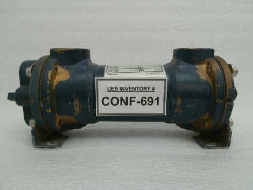 ITT Standard 5-142-03-008-063 Tube Heat Exchanger HCF Used Working