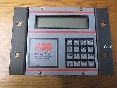 Abb 73865 Paint Finishing Controller Control Panel Module