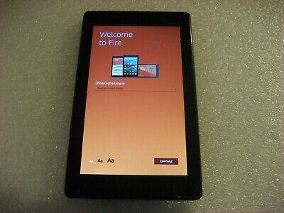 """Amazon Kindle Fire 7 (7th Generation), 8GB, Wi-Fi, 7"""", Black,  SR043KL"""