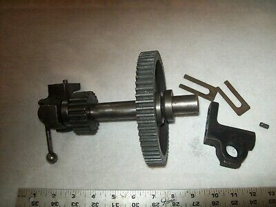 Countershaft Gear Assembly From 10 Atlas Metal Lathe Qc42 2 18 Bed Gap