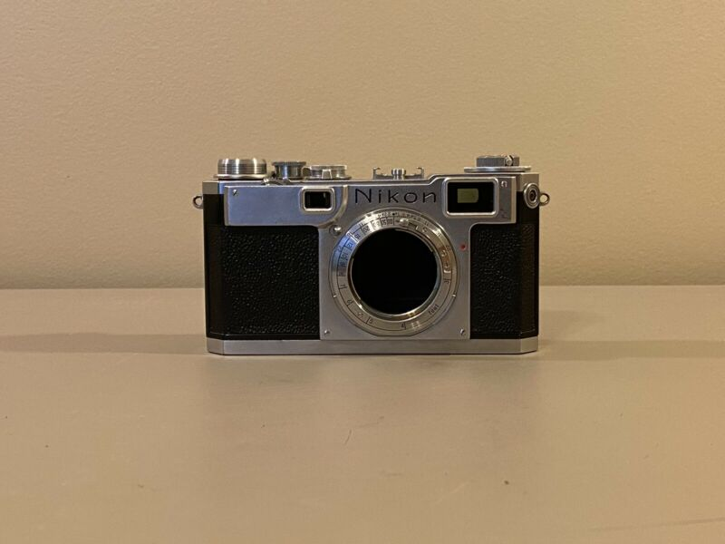 Nikon S2 Rangefinder Film Camera Body