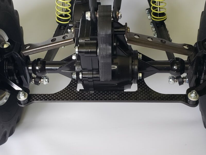 """CLODBUSTER Carbon Fiber """"Acu-Lock"""" Rear Steering Lock Out Device #CF-CB23C"""