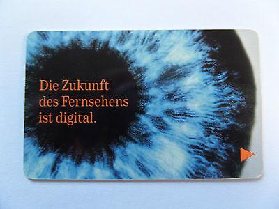 """MediaServicesKarte BetaResearch Card Smartcard""""Zukunft des Fernsehens""""abgelaufen"""