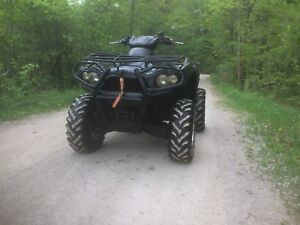 2007 Kawasaki Brute Force 750i 4x4 3639kms