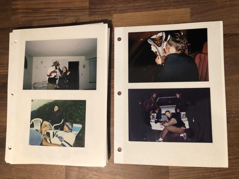 80s Black Hip Hop Jail Gang Photo Album Los Angeles California African American