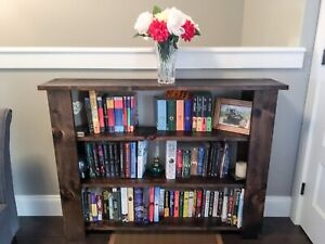 Custom Rustic Bookshelves and Shelves