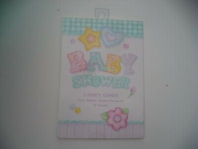 Simple Baby Shower Games (Baby Shower Baby Quilt With Five Fun Simple Party Games For Up To Eight)