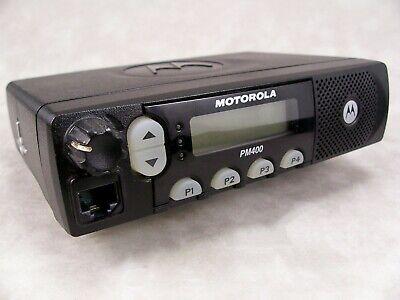 Motorola Pm400 Vhf 64ch 45w Ltr Mobile Radio Wnew Accessories