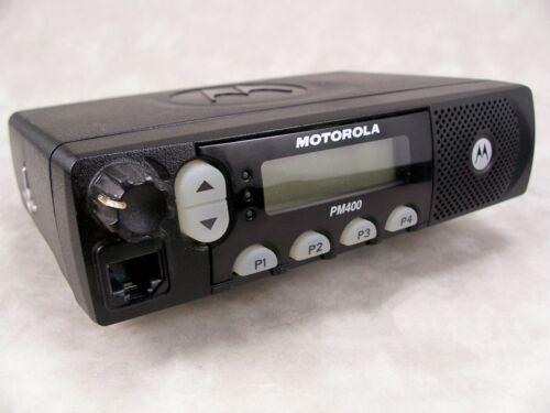 Motorola PM400 VHF 64ch 45w LTR Mobile Radio w/New Accessories