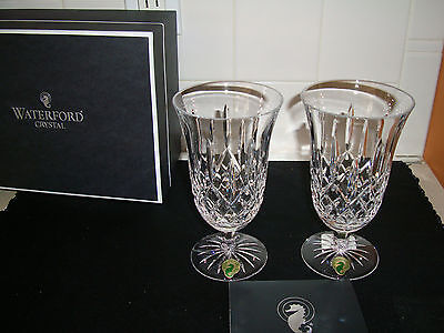 Lismore Iced Beverage (WATERFORD CRYSTAL LISMORE ICED  BEVERAGE 1 PAIR )