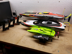 4 Professional RC Boats South Morang Whittlesea Area Preview