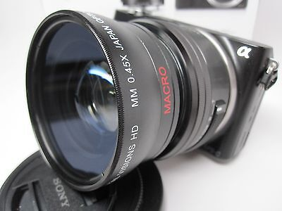 Ultra Wide Angle Macro Lens for Sony Nex 6 5t 3n 3 5 7 5000 5100 6000 6100 16mm  ()