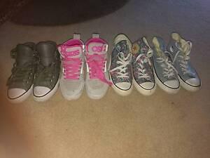 Ladies/girls converse and Osiris shoes Launceston Launceston Area Preview