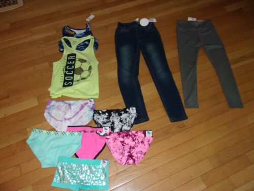 NWT GIRLS 10 PIECE JUSTICE LOT SIZE  8