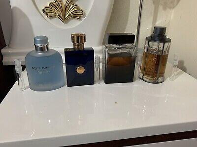 versace dylan blue+ D&gThe One Edp +Light Blue Intense +Hugo BossTheCent Intense