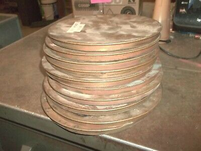 Lot Of 10 Unbranded 8 Brass Sieve Top Covers Half Height 636