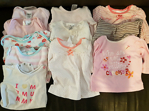Baby girl size 000 clothing -lots of WINTER + summer clothing too Warnbro Rockingham Area Preview