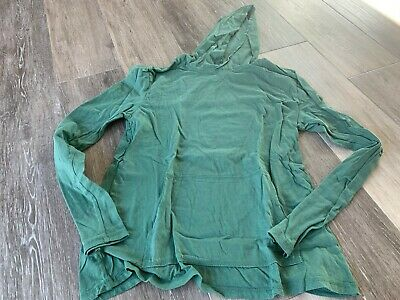 THREADS 4 THOUGHT GREEN HOODIES WITH KANGAROO POCKET SWEATSHIRT SZ M Green Kangaroo Hoody Sweatshirt