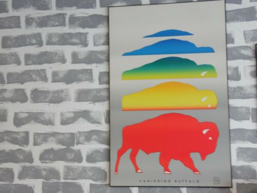 Vanishing Buffalo Art